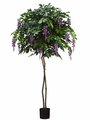 Set of 2 - 6' Artificial Wisteria Trees