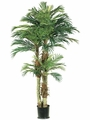 Set of 2 - 6' Silk Artificial Phoenix Palm Trees
