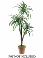 "Set of 2 - 66"" Artificial Dracaena Tree (Non Potted)"
