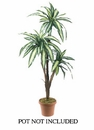 """Set of 2 - 66"""" Artificial Dracaena Tree (Non Potted)"""