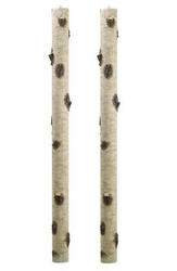 "Set of 2 - 67"" Artificial Birch Tree Branches"