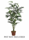 Set of 2 - 7' Silk Bamboo Palms - 672 Leaves - Non Potted