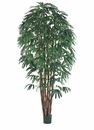Set of 2 - 8' Artificial Raphis Palm Trees