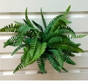 Set of 12 - Outdoor Artificial Fern Plants - 19""