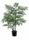 Set of 4 - 3' Artificial Bamboo Palm Trees