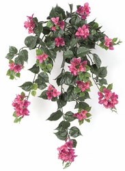 "Set of 4 - 36"" Artificial Outdoor Bougainvillea Flowers - Lavender/Fuchsia"