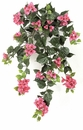 "Set of 4 - 36"" Outdoor Artificial Bougainvillea Flowers - Fuchsia"