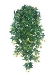 "42"" Silk Sage Ivy Hanging Bushes - Set of 4"