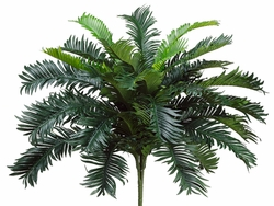 "24"" Artificial Cycas Palm Bushes - Set of 6"