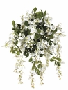 "Set of 6 - 31"" Artificial Silk Wisteria Flower Bushes"