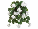 "Set of 6 - 32"" Water Resistant Artificial Geranium Flower Bushes"