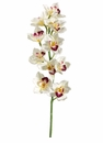 "Set of 6 - 36"" Artificial Silk Cymbidium Orchid Spray"