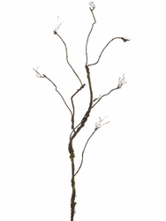 "Set of 6 - 50"" Artificial Curly Twig Spray Branch"