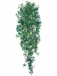 "51"" Medium Sage Silk Ivy Hanging Bushes - Set of 6"
