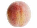"Set of 6 - Artificial Peaches: 3.5"" Diameter"