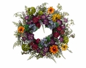 Silk Flower Wreaths & Garland