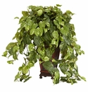 "36"" Vining Pothos with Decorative Vase Silk Plant"