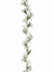 6' Wedding Flowers- Gypsophila Artificial Garland - Set of 6