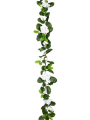 Wedding Flowers -  6' Stephanotis and Gardenia Garland - Set of 6