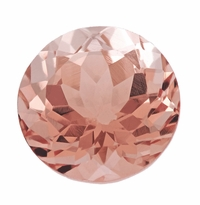0.94 ct Round Morganite