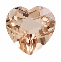 1.40 ct Heart Morganite