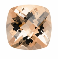 1.48 ct Cushion Morganite