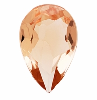 1.54 ct Pear Morganite