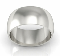 10mm Traditional Wedding Ring in 14k Gold