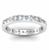 Eternity Ring 1.00 cttw Channel Set Diamonds