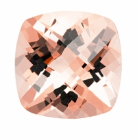 2.19 ct Cushion Morganite