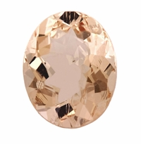 2.62 ct Oval Morganite
