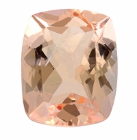 2.65 ct Elongated Cushion Morganite