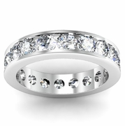 2.75cttw Diamond Eternity Band Channel