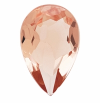 3.00 ct Pear Morganite