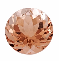 3.12 ct Round Morganite