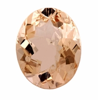 3.84 ct Oval Morganite