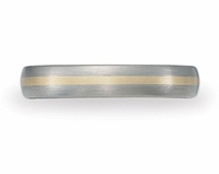 4mm BENCHMARK Aircraft Grade Titanium Wedding Band