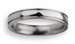 4mm Titanium Ring for Women