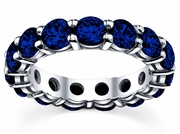 5.00 cttw Sapphire Eternity Ring