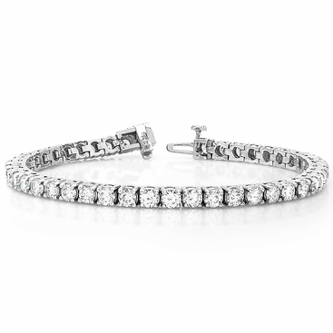 5 Carat Diamond Tennis Bracelet - click to enlarge