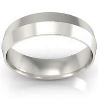 5mm Knife Edge Wedding Ring in 18-Karat