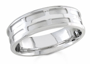 6.5mm Comfort Fit Wedding Ring for Men