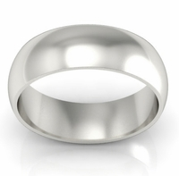 7mm Traditional Wedding Ring in 14kt Gold