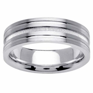 7mm Unique Mens Ring