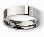 8mm Titanium Mens Ring