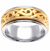 9.5mm Celtic Ring