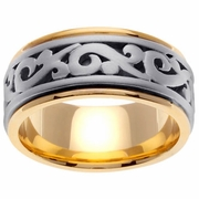9.5mm Celtic Wedding Ring