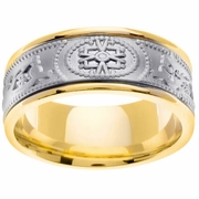 9mm Unique Celtic Wedding Ring