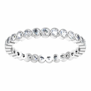 Bezel Set Diamond Eternity Band
