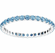 Blue Topaz Eternity Ring